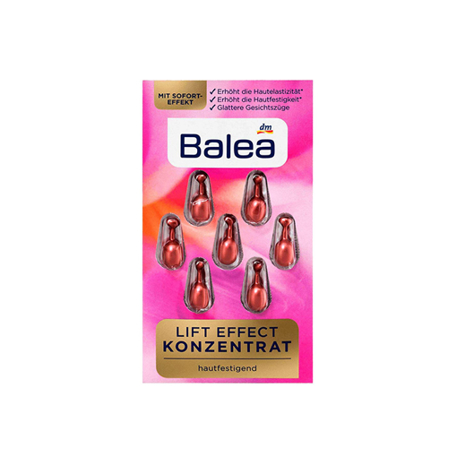 Picture of Balea Lift Effect Concentrate Face Serum - 7 Capsules