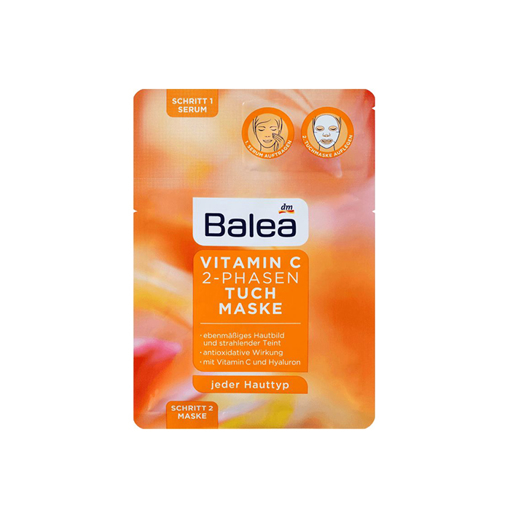 Picture of Balea Vitamin C 2 phase Mask and serum