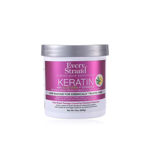 Picture of Every Strand Keratin Hair Masque for Chemically Treated Hair - 425 ml