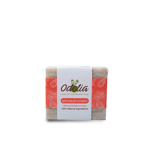 Picture of Odelia Olive Oil and Almond Soap - 90 gm