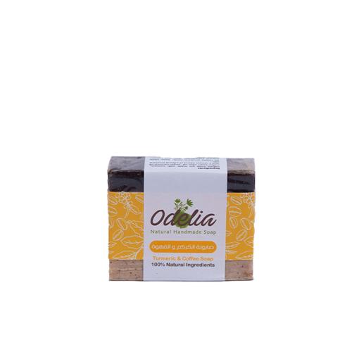 صورة صابون الكركم و القهوة من اوديليا - 90 جرام