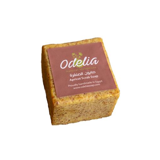 Picture of Odelia Apricot Scrub Soap - 200 gm