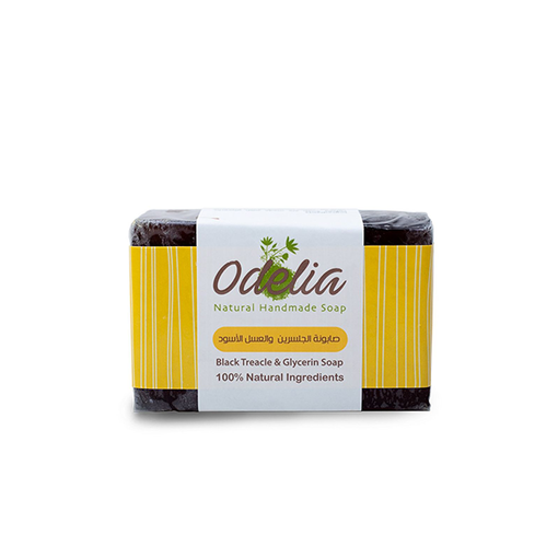 Picture of Odelia Black Treacle and Glycerin Soap - 90 gm