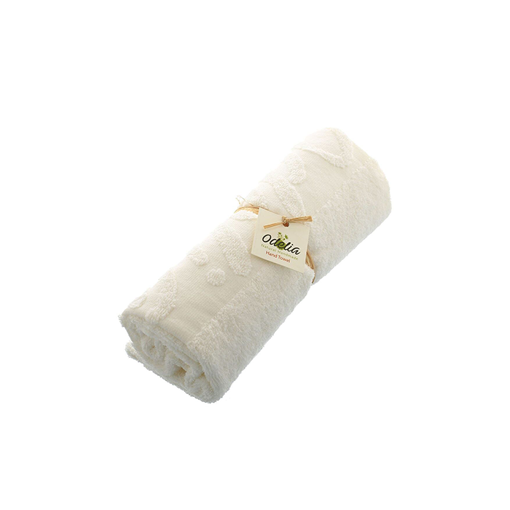 Picture of Odelia Egyptian Cotton Solid Pattern,Beige - Hand Towels